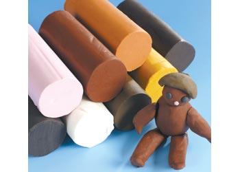 Soft Dough People Colour 8 x 300g Blocks