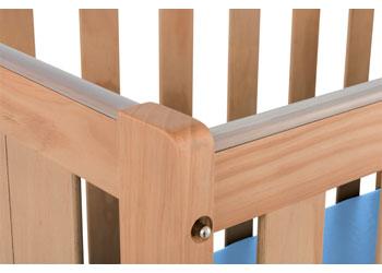 SafeSpace – Ergonomic Cot & Mattress – Natural