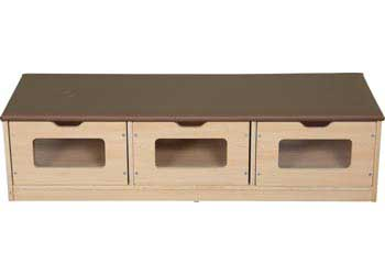 SafeSpace Bench Storage Unit And Mirror