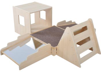SafeSpace U2013 Toddler Adventure Centre 5pce Kit   SafeSpace Toddler Furniture