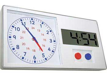 Online digital clock with date in Australia