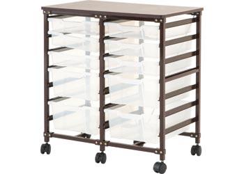 Ergerite – Double Storage Tray System