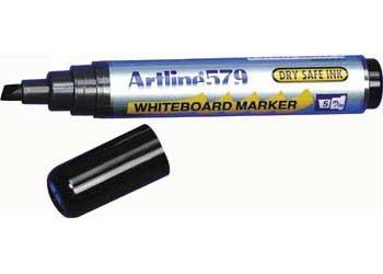 Artline Chisel Tip Whiteboard Marker Black