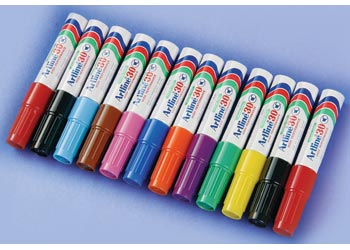 Artline 30 Permanent Markers – Pack of 12