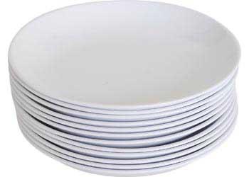 Melamine Plates u2013 White u2013 25cm u2013 Set of 12  sc 1 st  Modern Teaching Aids & Melamine Plates u2013 White u2013 25cm u2013 Set of 12 - MTA Catalogue