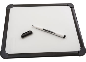 Thinline Whiteboard Markers Black – Pack of 12