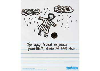 Teachables Picture Story Whiteboard – Pack of 30