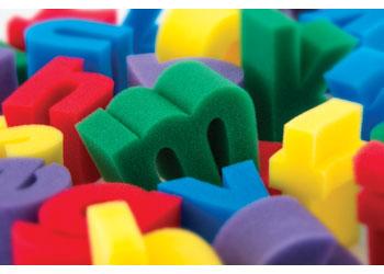 Alphabet Sponges