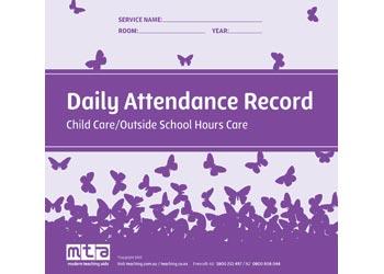 attendance record book