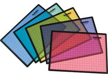 Teachables Easy Clean Messy Mats – Pack of 5