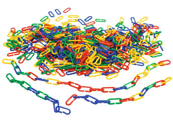 Counting Links – Set of 500 pieces in Jar