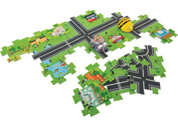 Bee-Bot Road Maze Tiles Kit