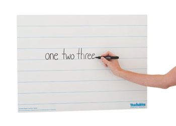 Teachables Magnetic Lined Write & Wipe Sheet
