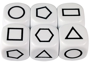Dice: Attribute Shapes 22mm