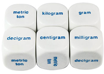 dice metric weight mta catalogue