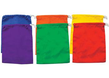 Drawstring Bags Small Set of 6