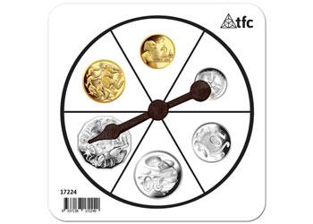 Money Coins Spinner