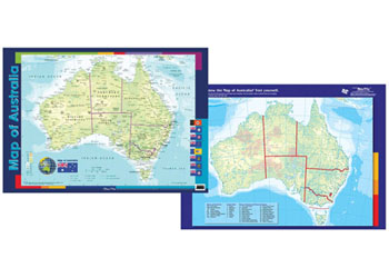 Maps science map of australia chart science posters charts gumiabroncs Images