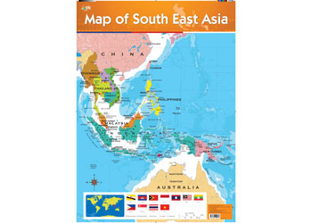 Maps science map of south east asia science posters charts gumiabroncs Images