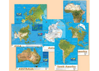 Maps science australia bulletin board science posters charts gumiabroncs Images