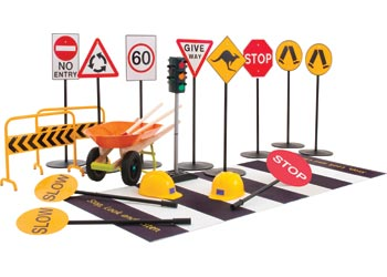 Complete Set of Road Safety Signs