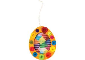 Bulk Assorted Coloured Buttons 600g Tub