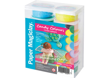 Paper Magiclay Candy Colours – 240g Pack