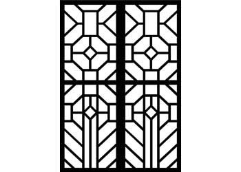 Cardboard Stained Glass Frames A4 Pack Of 20 Mta Catalogue