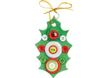 Bulk Christmas Colour Buttons – 600g Tub