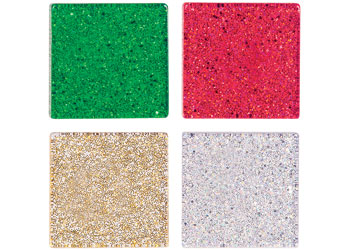 Mosaic Tiles, Christmas Colours – 150g