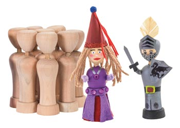 Small Wooden Dolls 8cm Pack Of 10 Mta Catalogue