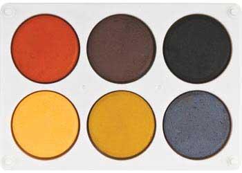 Poster Paint Colour Earth Palette Mta Catalogue