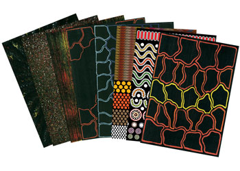 Indigenous Australian Papers Pack Of 40 Mta Catalogue