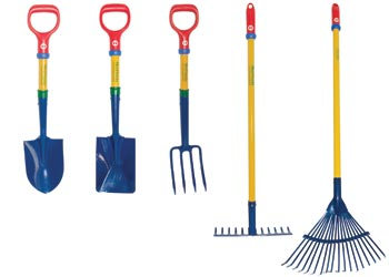 garden image of gardening flat design set stock tools illustration for and items vector