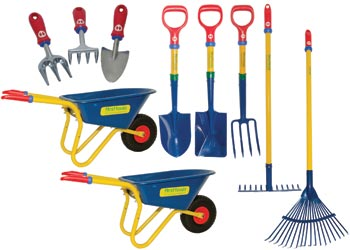 First tools complete gardening set of 10 kesco catalogue for Garden tools australia