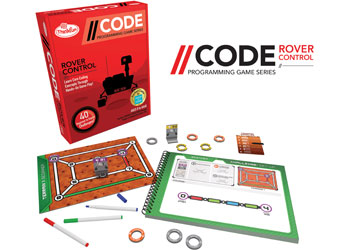 ThinkFun – //CODE: Rover Control Game