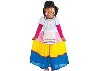 Mexican Girl Dress Up - Global Dress-ups  sc 1 st  Kangaroo Education & Global Dress-ups