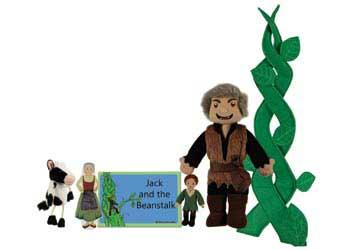 Jack & Beanstalk Puppet Story Set