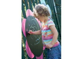 Large Outdoor Blackboard Daisies U2013 Set 5