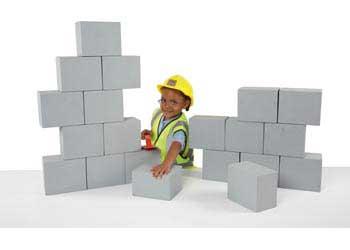 Besser Blocks Pretend Construction Set Set Of 20 Mta