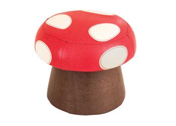 Mushroom Stool 28cm High Mta Catalogue - One-hundred-triangles-stool