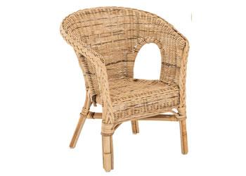 Mta Spaces Woven Wicker Chair Natural Mta Catalogue