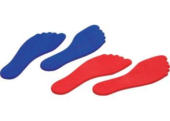 Foot Floor Markers Pack of 6