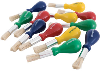 Creatistics Stubby Paint Brushes – Pack of 12