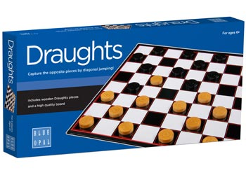 Blue Opal - Draughts Game