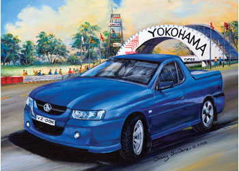 Blue Opal - Commodore at Oran Park 1000pc