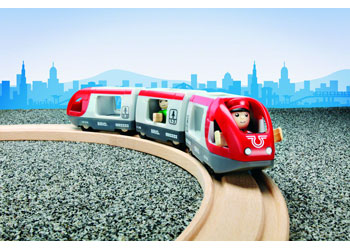 BRIO - Travel Train, 5 pieces