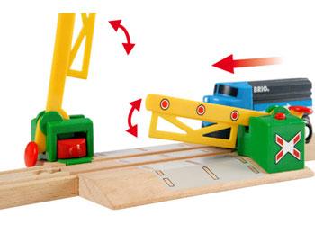 BRIO Tracks - Magnetic Action Crossing