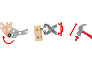 BRIO Builder - Construction Set, 136 pieces
