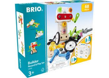 BRIO Builder - Record Play Set